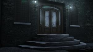 Old door to Ballrooms